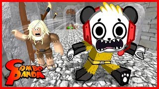 Roblox Escape the Dungeon FLOOR IS LAVA Let's Play with Combo Panda
