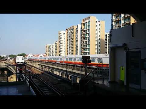 [Read Description] SMRT East West Line Trainspotting At EW4 Tanah Merah