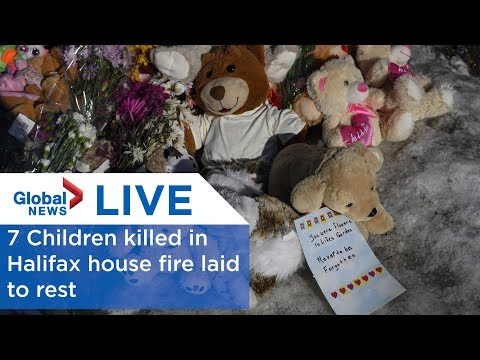 LIVE: Funeral service for 7 children killed in Halifax house fire