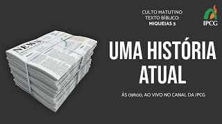 CULTO MATUTINO 04/10/2020