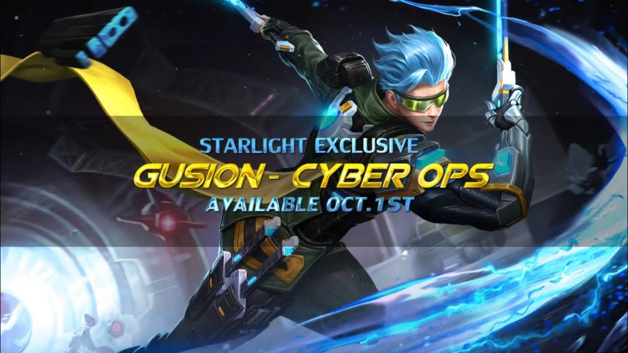 Gusion Cyber OPS Starlight October skin | Mobile legends ...