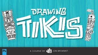 Drawing Tikis