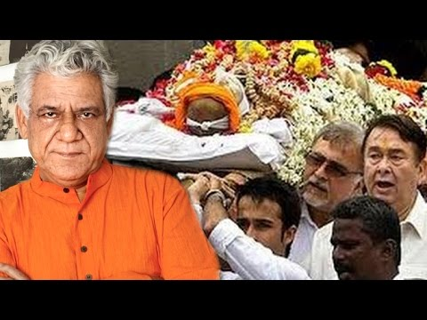 Om Puri's Last Rights Ceremony Full Video
