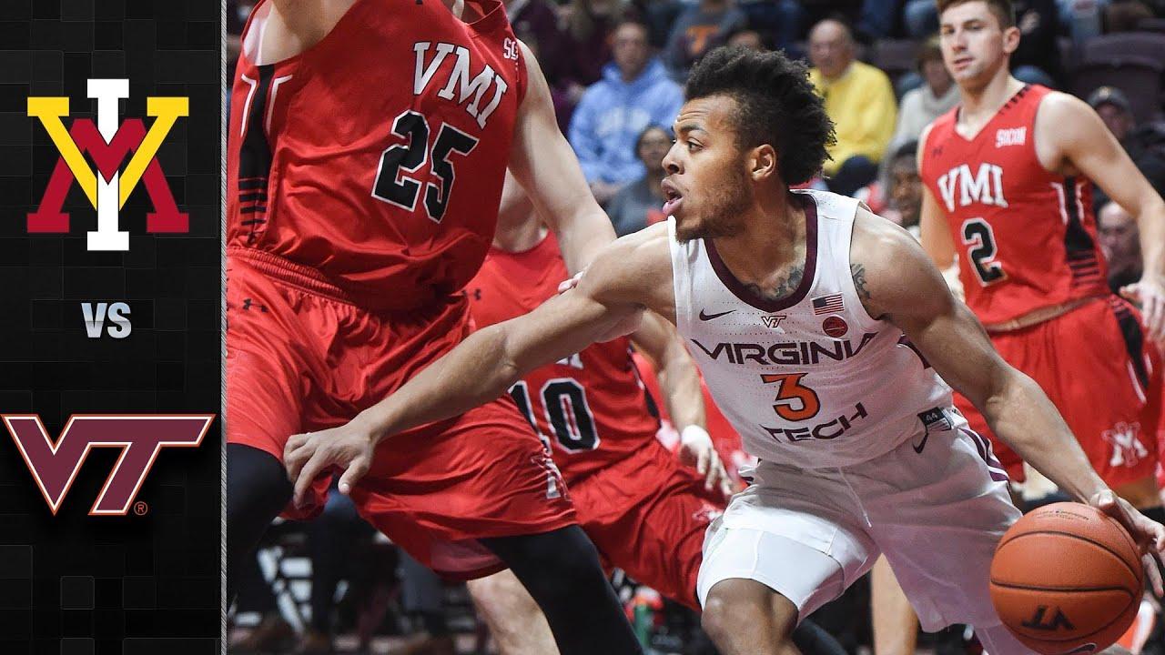 Vmi Vs Virginia Tech Men S Basketball Highlights 2019 20 Youtube