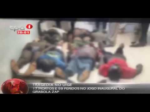Tragedia en Angola: Fallecen 17 aficionados en el partido inaugural de liga