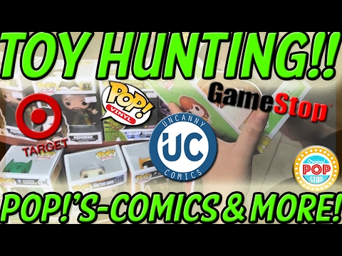 TOY HUNTING @ Target, GameStop & Uncanny Comics!! SPECIAL FINDS!!!