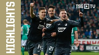 TSG on 🔥 | Highlights vom Sieg in Bremen
