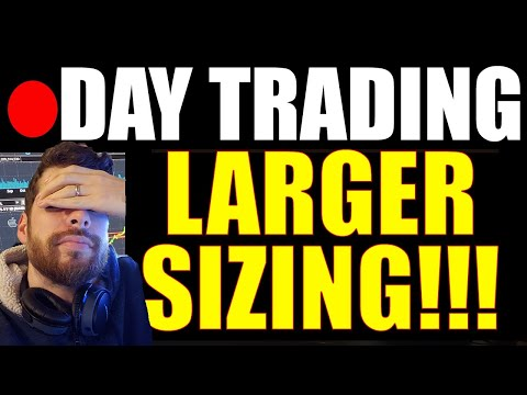 🔴 SCALING UP IN SIZE!! Day Trading LIVE Penny Stocks Small Account, Emini