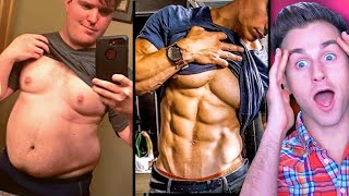 Reacting To Insane FAT to LEAN Body Transformations 2 (UNREAL)
