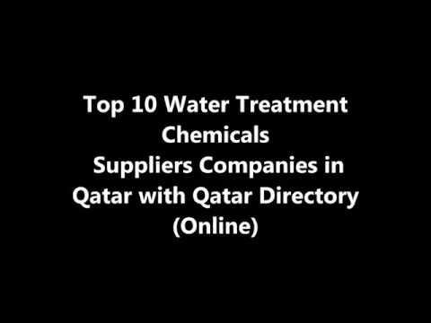 Top 10 Water Treatment Chemicals Supplies Companies in Doha, Qatar