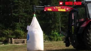Ładowacz zawieszany do nawozów BIG-BAG T466 METAL-FACH