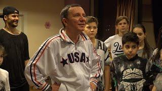 Михаил Гребенщиков Урок хип - хопа в Мастерской Recital Club
