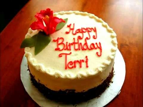 Teri Birthday Cake