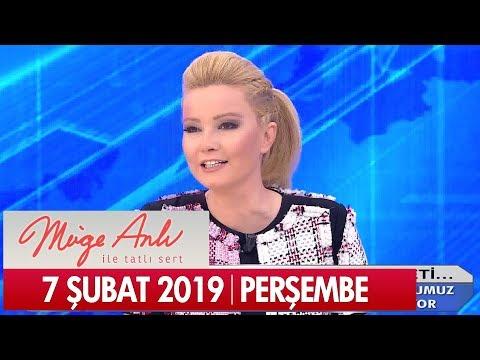 Müge Anlı ile Tatlı Sert 7 Şubat 2019 Perşembe - Tek Parça