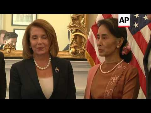 Suu Kyi: Myanmar Democracy 'An Ongoing Process'
