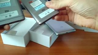 Распаковка Xiaomi Redmi 4 и Xiaomi Redmi 4 Pro (Prime) 5 дюмов