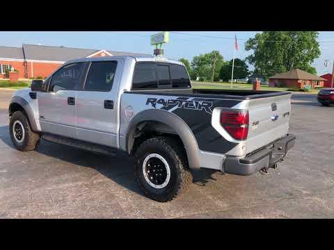 Ford F- SVT Raptor CREW CAB SHORT BED TRUCK V EFI V ENGINE