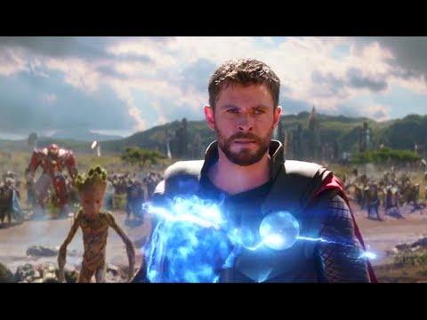Download Avengers Infinity War (2018) Telugu Dubbed Movie Clip   Thor Arrives in Wakanda