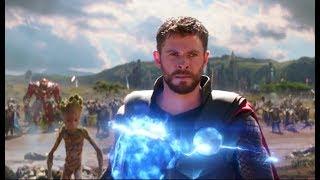 Avengers Infinity War (2018) Telugu Dubbed Movie Clip | Thor Arrives in Wakanda