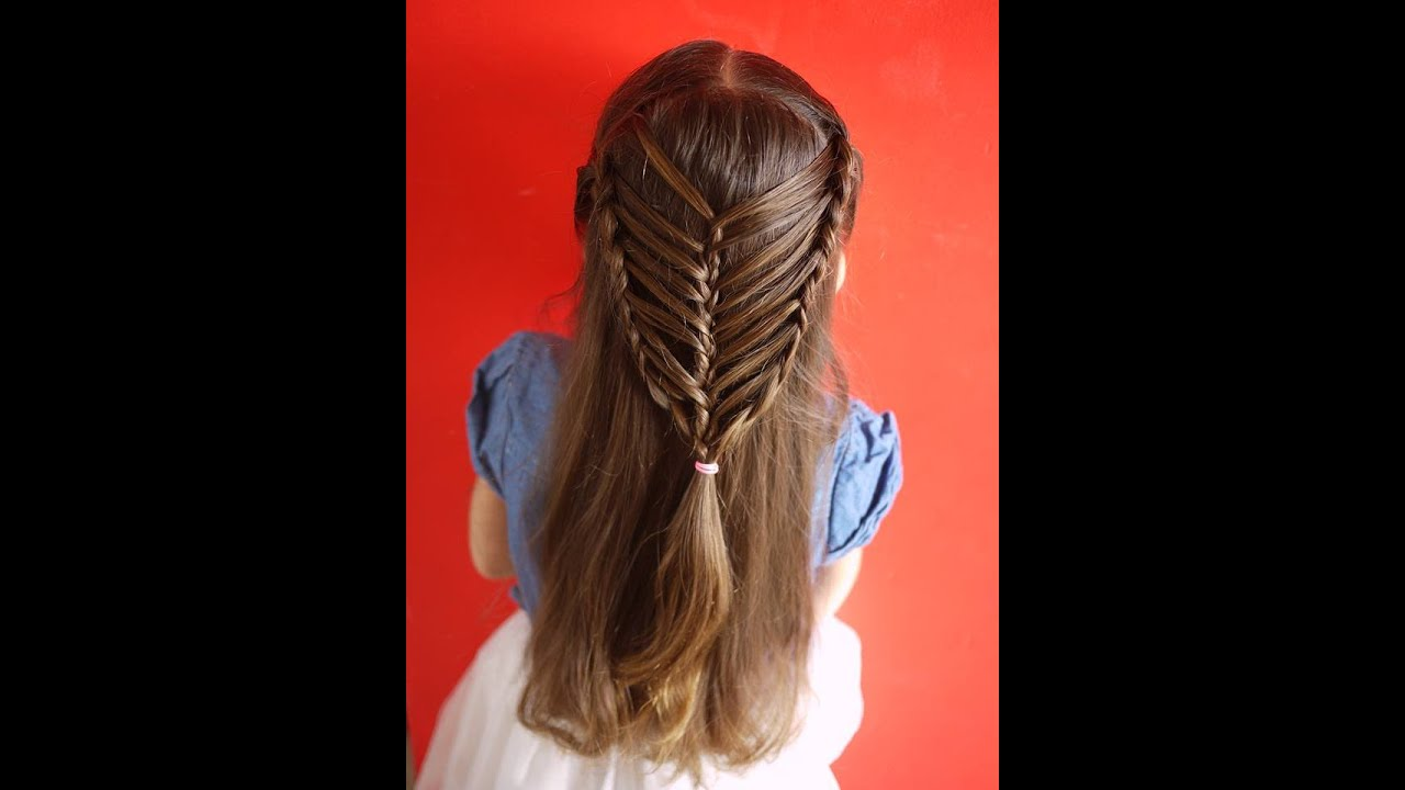 peinado muy fcil para nia trenzas bonitas easy hairstyle for girls youtube