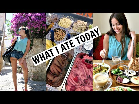 What I Ate Today, Birthday Japanese Party & Horror Escape Room! JERUSALEM VLOG