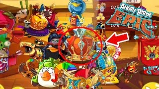 Angry Birds Epic: Gameplay Daily Arena Objectives  (Diamound League)
