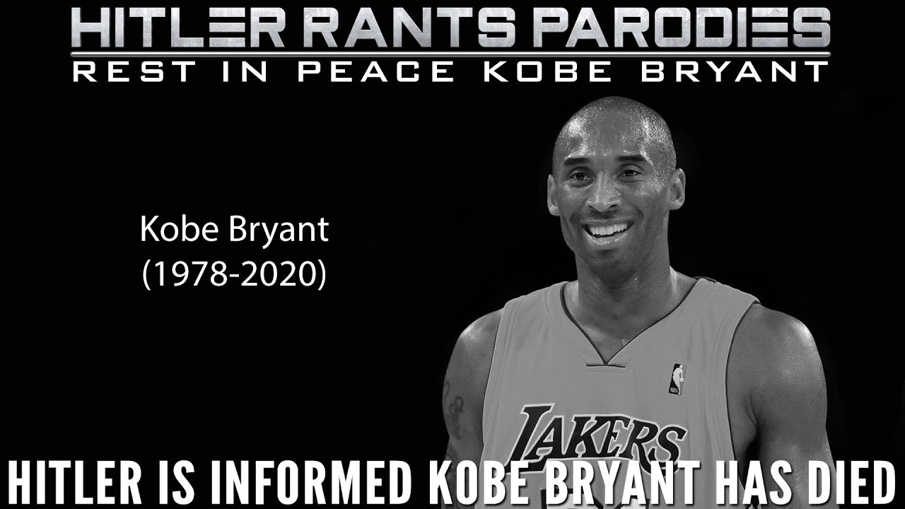 Hitler is informed Kobe Bryant has died