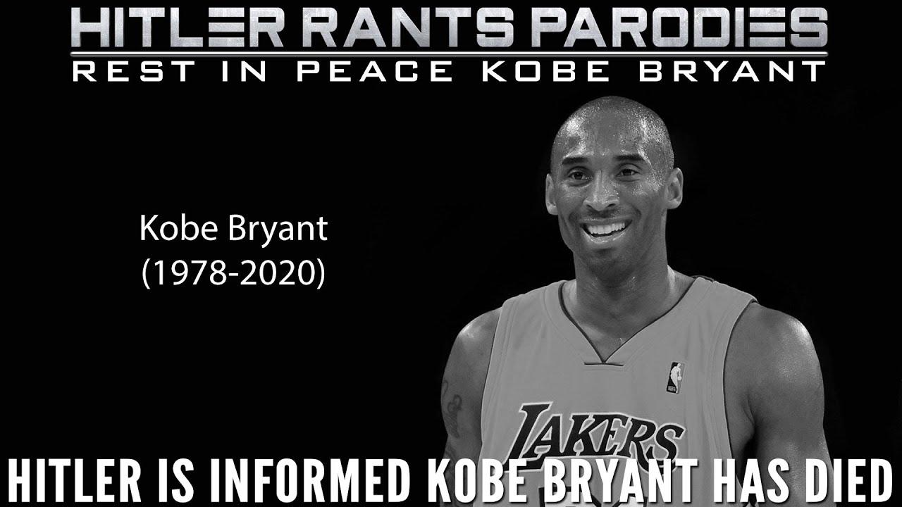 Hitler is informed Kobe Bryant has died