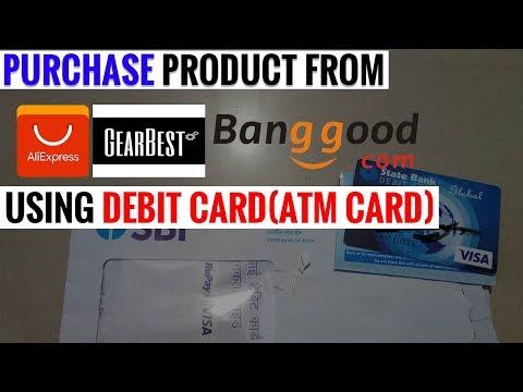 Buy From Aliexpress Using Debit Card Sbi Atm Practical