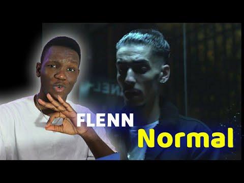 Download Flenn - Normal [ clip officiel ]   NIGERIAN Reaction   Life of vic