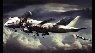 Падение самолета / страшно смотреть когда самолет падает