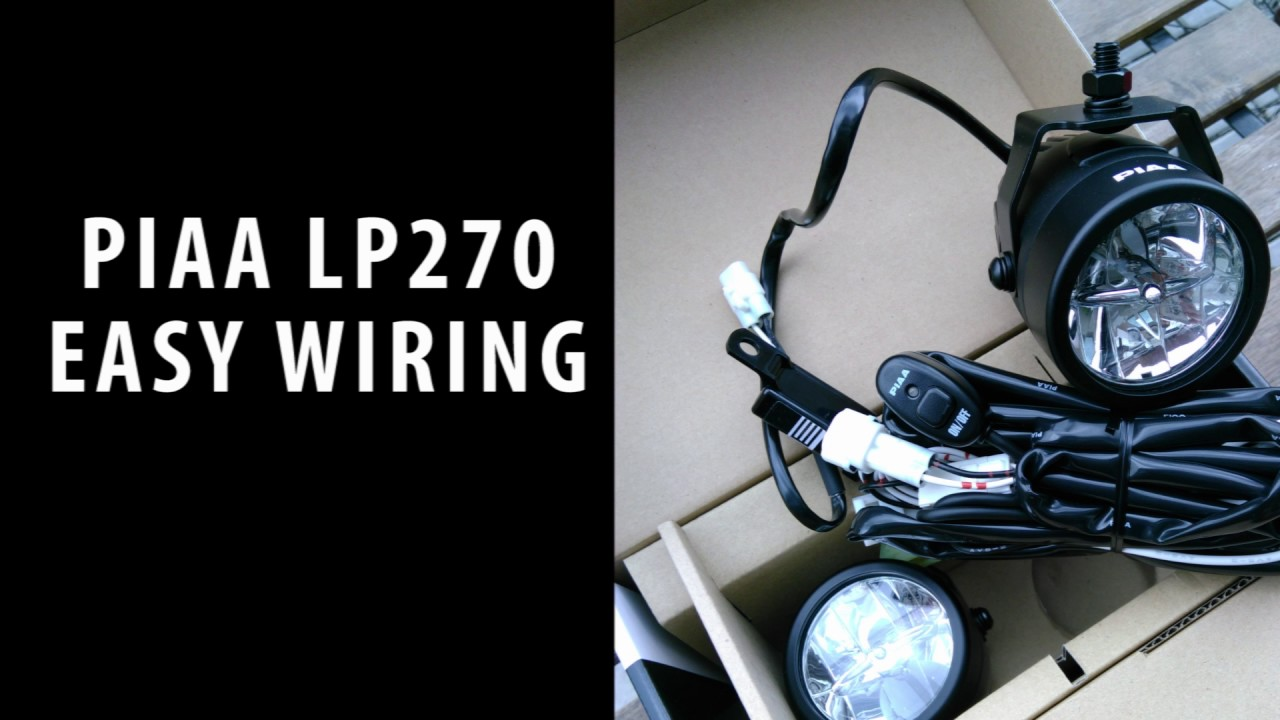 Lp530 Led Wiring Harness Not Lossing Diagram Piaa Fog Lights And Lp270 Easy Kit Youtube Rh Com Switch Light