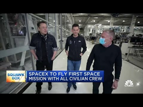 Billionaire Jared Isaacman Piloting First All-Civilian Spaceflight