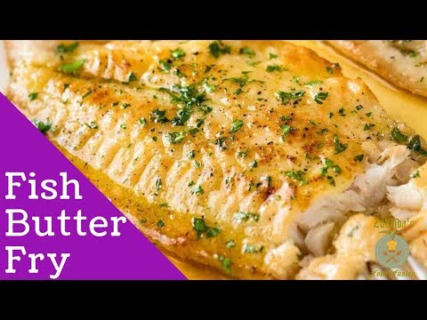 Fish Fry In Lemon Butter Sauce – Zubaida's Food Fusion