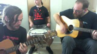 "Sean, Erik And Ryan From A Gentlemen Army Playing ""steamer Trunk"" By Alkaline Trio"