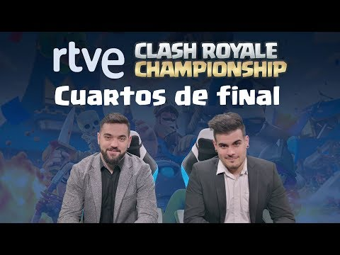 Cuartos de final | RTVE Clash Royale Championship | Playz