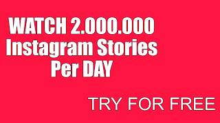 Instagram Mass Story View and Grow Your %100 Real Followers Organically 2019 (MassLooking)