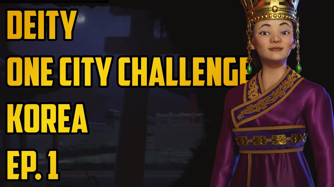 Civ 6 one city challenge gathering storm