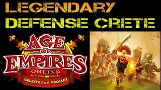 Age of Empires Online Legendary Defense Crete