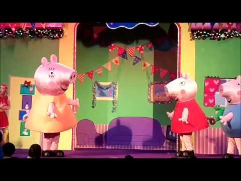 Peppa Pig Live Christmas Shows 2015 - Peppa's Christmas Surprise at United Square