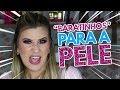 MELHORES PRODUTOS PARA PELE SECA - YouTube