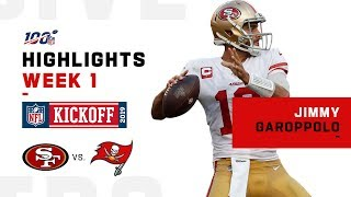 Jimmy Garoppolo Highlights vs. Buccaneers | NFL 2019