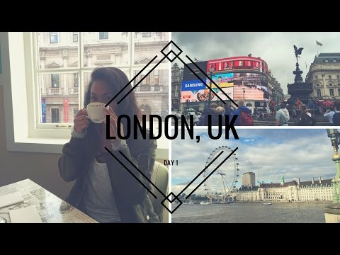 TRAVEL WITH ME: London Day 1!!