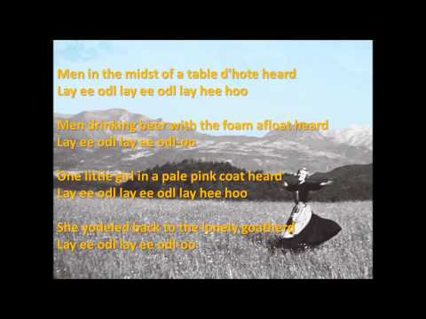 The Lonely Goatherd Lyrics