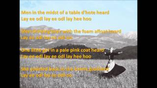 The Lonely Goatherd Lyrics