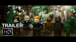 Avengers: Infinity War Trailer IN LEGO