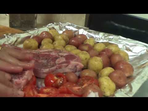 Lamb Chops With Potatoes In Oven