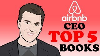 AirBnB CEO TOP 5 Book Suggestions | Brian Chesky