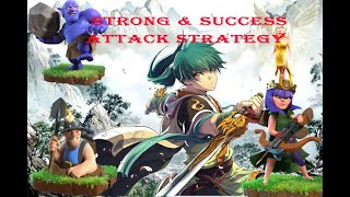 CLASH OF CLAN SUPER STRONG ATTACK TH12 TH11 TH10 | EASY 100 % ATTACK STRATEGY