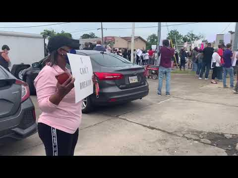 Lake Charles Peace Rally 5/31/20